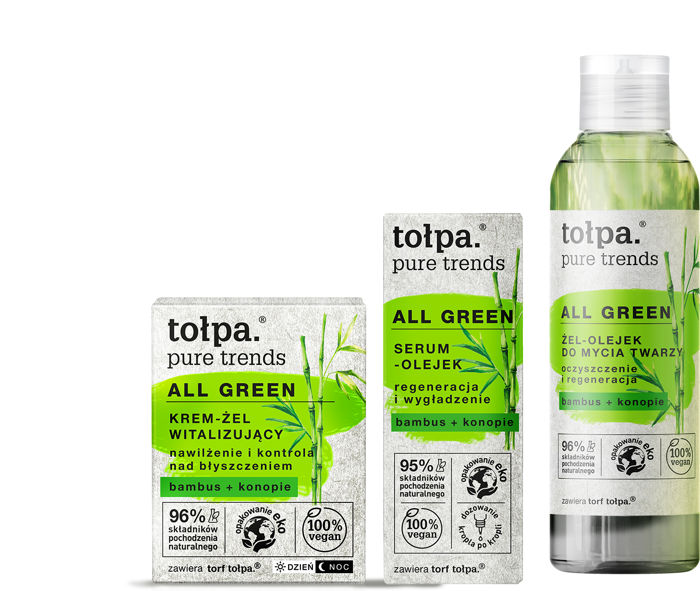 tołpa pure trends - all green